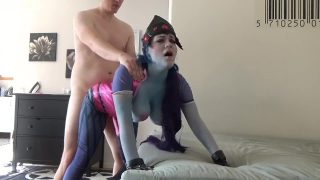 Widowmaker Overwatch Cosplay Girl Gets Fucked From Behind