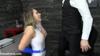 Power Girl Cosplayer Loves Hard Dick In Her Tight Pussy